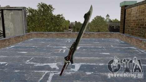 Меч -Red Queen- для GTA 4 второй скриншот