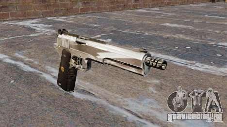 Полуавтоматический пистолет AMT Hardballer для GTA 4