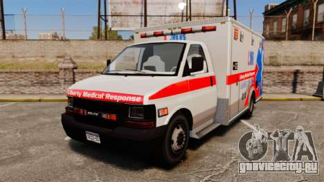 Brute Liberty Ambulance [ELS] для GTA 4