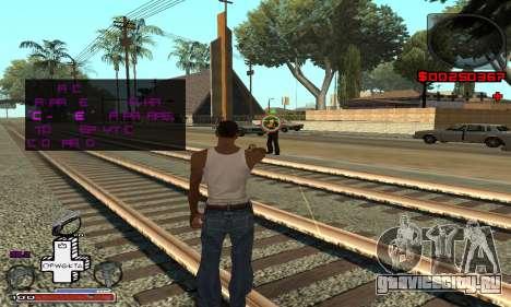 С-HUD OFWGKTA для GTA San Andreas третий скриншот