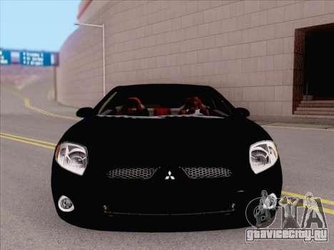 Mitsubishi Eclipse v4 для GTA San Andreas вид слева
