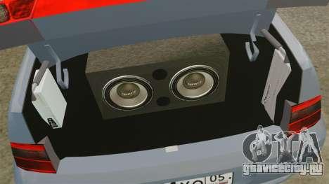 ВАЗ-2110 для GTA 4 вид изнутри