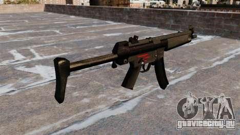 Пистолет-пулемёт HK МР5А3 для GTA 4 второй скриншот