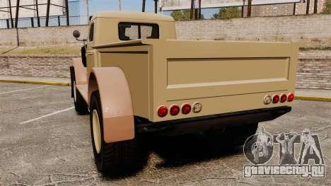 GTA V Bravado Duneloader для GTA 4 вид сзади слева