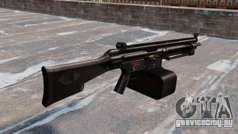 Единый пулемёт HK21 для GTA 4 второй скриншот