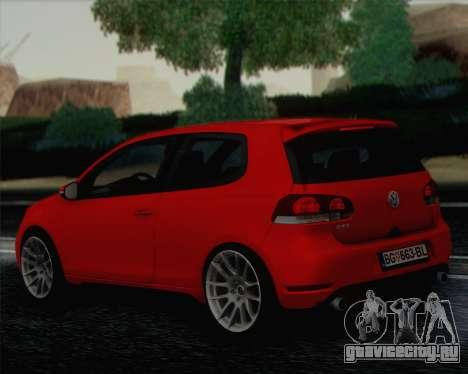 Volkswagen Golf Mk6 для GTA San Andreas вид слева