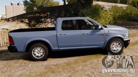 Dodge Ram 2010 для GTA 4 вид слева