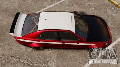 Sultan RS Sedan для GTA 4 вид справа