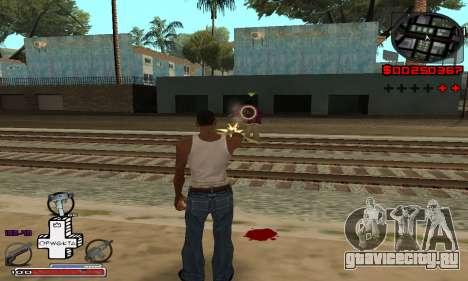 С-HUD OFWGKTA для GTA San Andreas второй скриншот