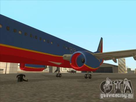 Boeing 737 Southwest Airlines для GTA San Andreas салон