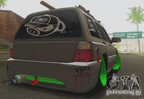 Subaru Forester JDM для GTA San Andreas вид справа