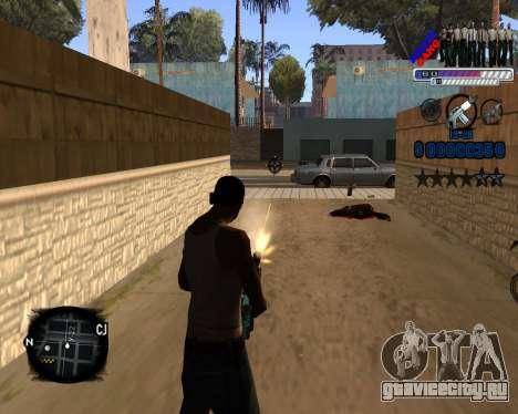 C-HUD Police Gang для GTA San Andreas третий скриншот