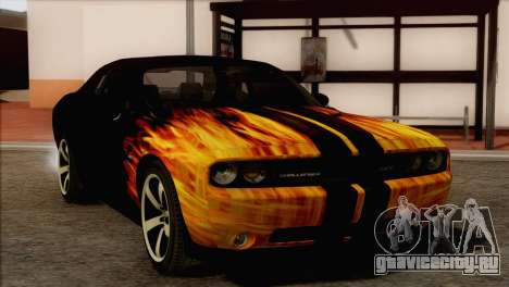 Dodge Challenger SRT8 2012 HEMI для GTA San Andreas вид сбоку