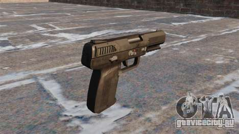 Самозарядный пистолет FN Five-seveN MW3 для GTA 4 второй скриншот