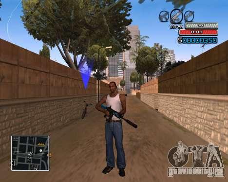 C-HUD by Wh_SkyLine для GTA San Andreas