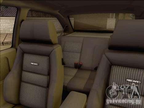 Ford Sierra Mk1 Coupe GHIA для GTA San Andreas вид сзади