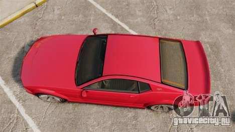 GTA V Vapid Dominator 450cui Supercharged для GTA 4 вид справа