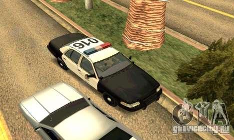 Ford Crown Victoria Police LV для GTA San Andreas вид сбоку