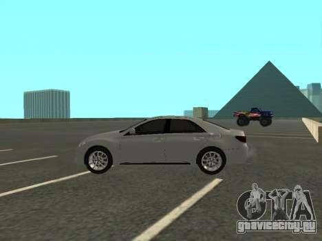 Toyota Mark X для GTA San Andreas вид слева