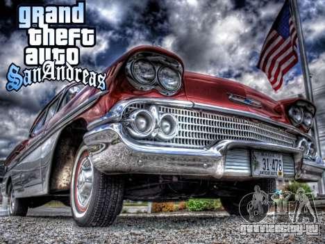 New loadscreen Old Cars для GTA San Andreas четвёртый скриншот