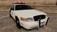 Ford Crown Victoria 1999 U.S. Border Patrol для GTA 4