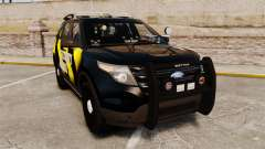 Ford Explorer 2013 Security Patrol [ELS] для GTA 4