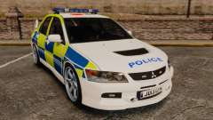 Mitsubishi Lancer Evolution IX Uk Police [ELS] для GTA 4
