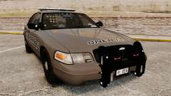 Ford Crown Victoria 2008 Sheriff Patrol [ELS] для GTA 4
