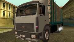 МАЗ 6430 Лесовоз для GTA San Andreas