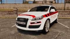 Audi Q7 Enforcer [ELS] для GTA 4