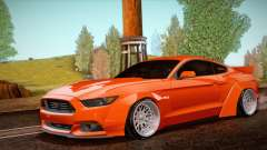 Ford Mustang Rocket Bunny 2015 для GTA San Andreas