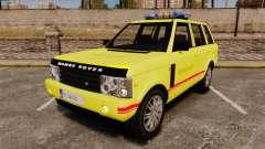 Range Rover Vogue Brannvesenet для GTA 4