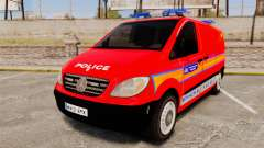 Mercedes-Benz Vito Metropolitan Police [ELS] для GTA 4