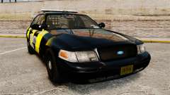 Ford Crown Victoria 2008 Security Patrol [ELS] для GTA 4