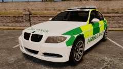 BMW 330i Ambulance [ELS] для GTA 4