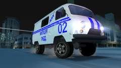 УАЗ 3741 ГИБДД для GTA Vice City