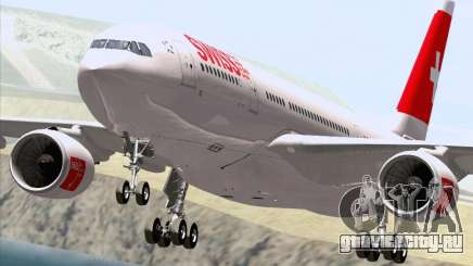 Airbus A330-223 Swiss International Airlines для GTA San Andreas