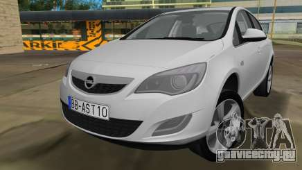 Opel Astra 2011 для GTA Vice City