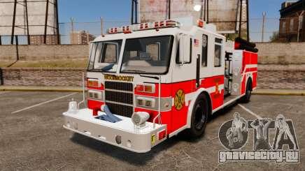 Firetruck Woonsocket [ELS] для GTA 4
