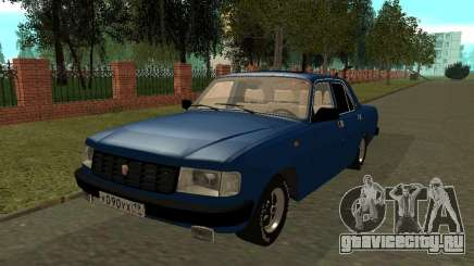 ГАЗ 31029 Волга Синяя с тонировкой для GTA San Andreas