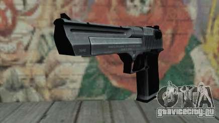Desrt Eagle чёрный для GTA San Andreas