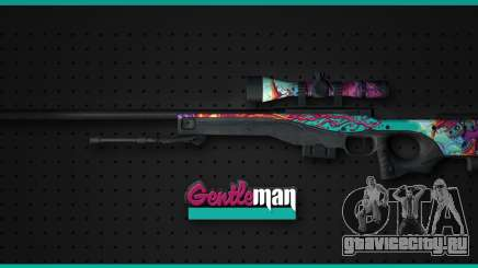 AWP from CS GO Gentleman для GTA San Andreas
