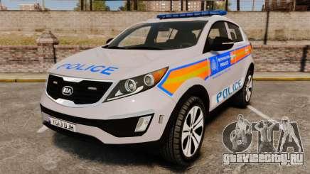 Kia Sportage Metropolitan Police [ELS] для GTA 4
