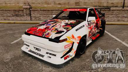 Toyota Corolla GT-S AE86 [EPM] Reimu Hakurei для GTA 4