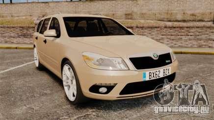 Skoda Octavia RS Stock для GTA 4
