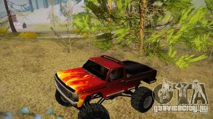 Новые текстуры для Monster A для GTA San Andreas