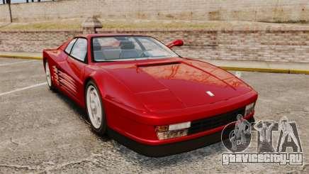 Ferrari Testarossa 1986 v1.1 для GTA 4