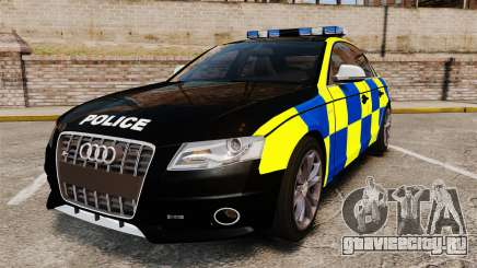 Audi S4 Police [ELS] для GTA 4