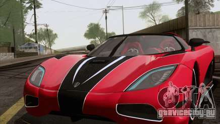 Koenigsegg Agera R 2011 для GTA San Andreas