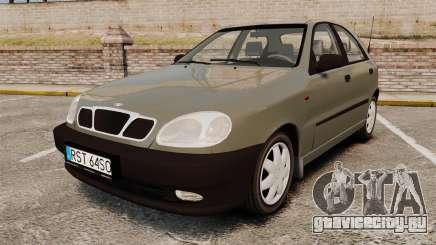 Daewoo Lanos S PL 2001 для GTA 4